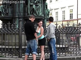 Group Sex - Group In The Middle Of The City Part 1