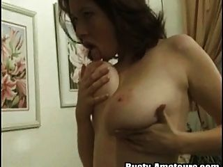 Redhead Model Kathryn Masturbate With Pleasure