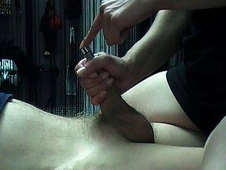 Thick Urethra Sound And Cum