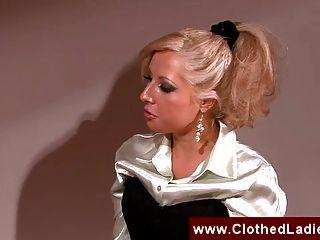 Blonde Secretary Gets Fucked