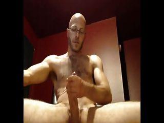 Big Cock Cumshot (abspritzen Am Schreibtisch)