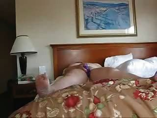 Business Woman Alone In A Hotel
