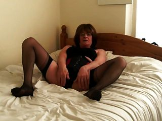 Jenny Smith Corset And Stockings Tranny