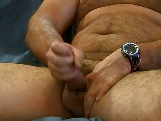 Big Bear Plays With His Cook 2