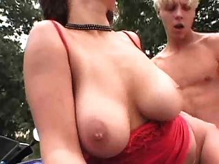 Big Titty Hitchhiker Trades Sex For A Ride