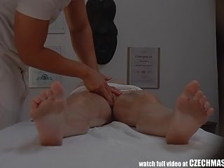 Czech Massage Room Intensive Sex With Teens Brunette