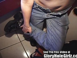 Cock Starved Teen Grease Monkey Gets Gloryhole Cum Loads