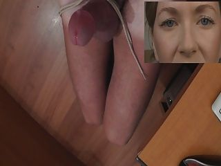 Joi Thick Tied Cock - Watched For Cum - Ruined