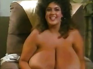 Retro Mom With Giant Mega-boobs With Large Areolas