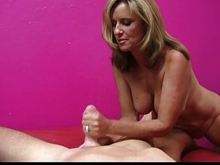 Blonde receives anal hard fucking in bedroom