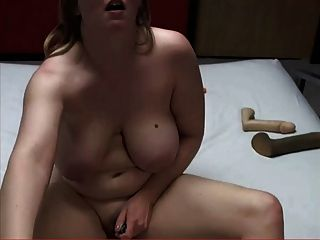 Chubby Milf Is Playing With Her Toy