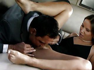 European dominatrix verbally uses slave before facesitting 5
