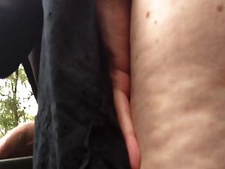 Abbey Dogging Outdoors With A Hot Young Stranger