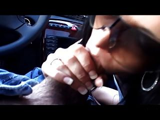 Our Lovers Quick Bj In Car