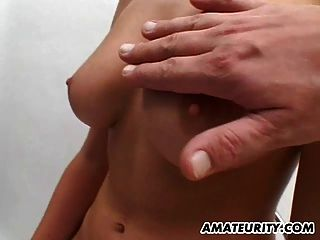 Amateur Gf With Big Tits Sucks And Fucks With Facial