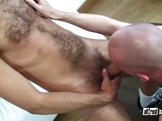 Hairy Macho Breeds Smooth Bottom