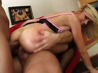 Sexy Kelly Wells Double Anal