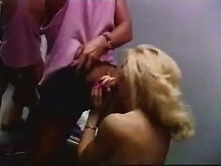 Rebecca Gets Wild With Two Cocks