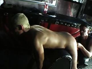 Blonde Slut Gets Hard Fisted