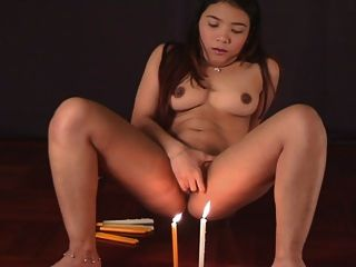 Porn with candles