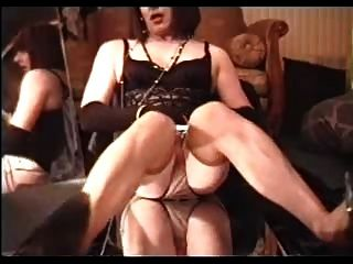 Jack Off In Nylons