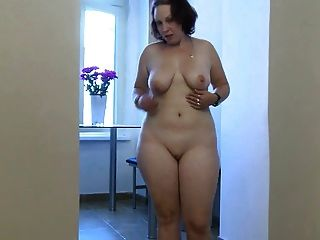 Chubby Young Girl In Masturbation Action