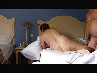 Mature Exhibitionist Wife Masturbating Then Being Fucked