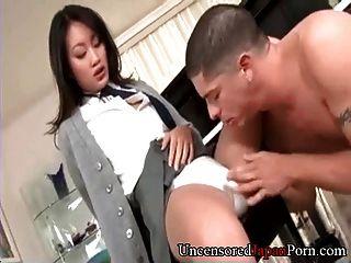 Shaved Japanese Schoolgirl - Uncensored