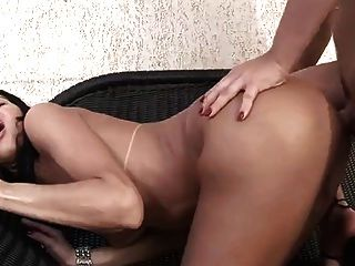 Tgirl Couple Making Out