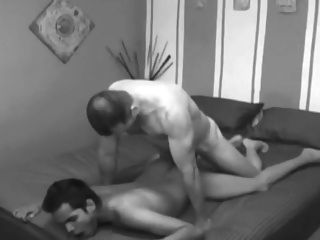 2 Cums In His Ass