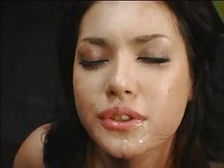 Sexy Japanease Girl Messy Deepthroat Gag