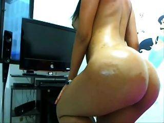 Latina Colombian Nataly Stunning Ass Booty