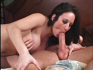 Milf Stephanie Swallows. Cum