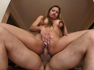 Asian Cougar Mika Gets Fucked In Her Ass