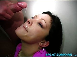 British Brunette Lauren Cox Sucks Cocks