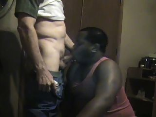 Black Chub Sucks Rock Hard Bwc Pt.1 (big White Cock)