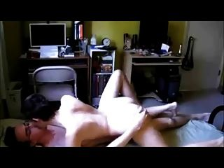Curvy Short-haired On Real Homemade Sextape