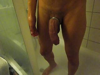 Big Cock Under Shower