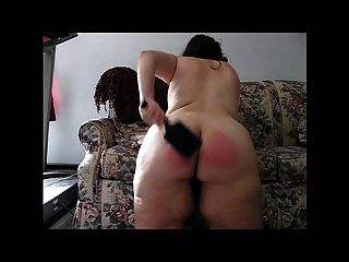 Spanking With A Paddle Brush