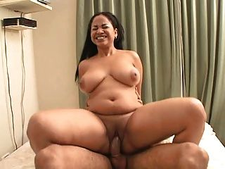 Annmarie La Vega Bounces Her Tits Then Fuck And Swallows
