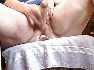 Bbw Mom Petra Toys Both Her Holes