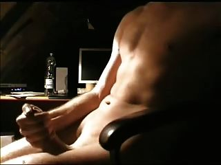 Watching Porn And Cumming Hard