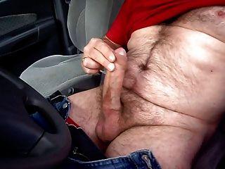 Beim Wichsen Im Auto 2