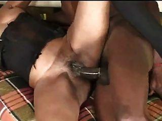 Black Mature In 1st Porno Scene