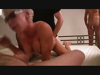 Hot Amateur Gangbang In Germany Part 6 Of 6 - German - Csm