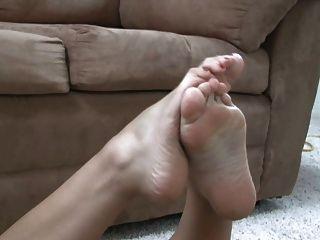 Foot Fetish Model