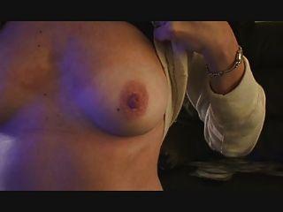 Bdsm prison fetish dominatrix is spanking a slave - 3093