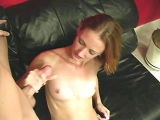 Thisgirlsucks skinny blonde stuffs huge cock in her mouth 1