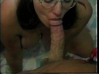 Hairy Twatted Nerd Casey Gets Cream In Her Cunt