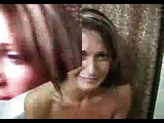 Porn Blooper: Guy Cums On Her Hair And She Flips Out